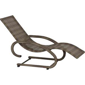 Siena Garden 800316 Swingliege Rio ♥ Die Liege ist sowohl stapelbar als auch pflegeleicht, witterungsbeständig und lichtecht