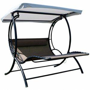 ASS Hollywoodliege ♥ Dieser Outdoor Swing Stuhl eignet sich hervorragend zum Entspannen und Ausruhen in ihrem Garten oder auf der Terrasse.