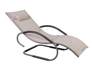 Meerweh Aluminium Schwingliege Deluxe XXL ♥ Mach deineTerrasse oder deinen Garten zur deiner ganz persönlichen Wohlfühloase der Entspannung.