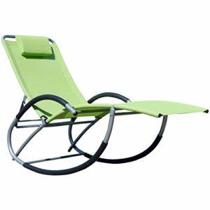 ASS Schwingstuhl ♥ Freue dich auf relaxte Stunden in dem Schaukelliegestuhl KRETA