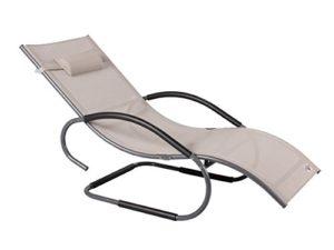 Strandgut07 Luxus Aluminium XXXL Schwingliege ♥ Mach deine Terrasse oder deinen Garten zur Ihrer ganz persönlichen Wohlfühloase der Entspannung.