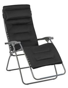 Lafuma Großer Relax-Liegestuhl ♥ Sehr bequemes Liegen dank 3-lagigem Air Comfort Bezug mit patentiertem Clip-System