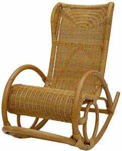 korb.outlet Relaxsessel  Luxor aus Rattan ♥ Durch die hoch angebrachten Kopfstützen ist der Stuhl besonders bequem.
