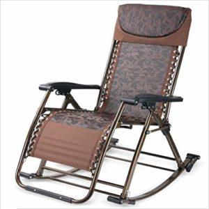 WENRIT Tragbarer Schaukelstuhl ♥ Geeignet für Schlafzimmer, Garten, Outdoor, Strand, Familienbalkon und andere Freizeitplätze.