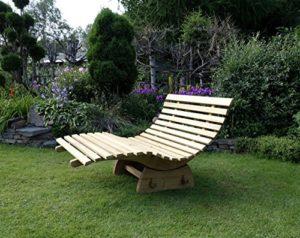 Relaxliege verstellbar ♥  Die Liege ist komplett aus Massivholz Eiche hergestellt und somit für den Innen-u. Außenbereich geeignet. Die Oberfläche ist mit einem UV-Oel behandelt.